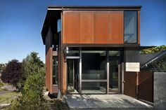 Olson Kundig Architects - Projects - Hammer House #corten #modern #tom #architecture #kundig