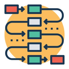 See more icon inspiration related to process, plan, planning, flow chart, presentation, business, business and finance and seo and web on Flaticon.