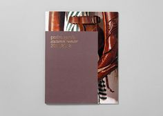 Pedro García / Pedro Garcia Catalogue Autumn/Winter 2011–2012 / Fashion #stamp #catalog #booklet #editorial #foil