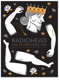 blog - tad carpenter #illustration #radiohead #poster