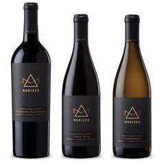 Moniker Family Estates ~ Wine Label Design ~ Packaging ~ Auston Design Group #WineLabel #packaging