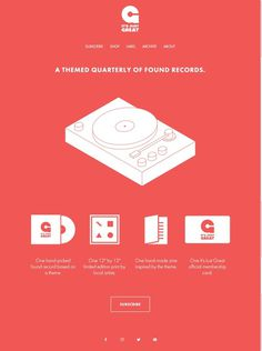 It's Just Great –a record quarterly. Saved from itsjustgre.at #hacker #subscription #francisco #clivehacker #just #quarterly #design #clive #san #its #illustration #music #great #albums #records #itsjustgreat #typography