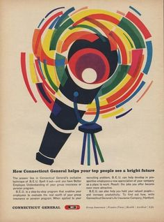 All sizes | Connecticut General B.E.U. Ad | Flickr - Photo Sharing! #vintage #retro #advert #colour
