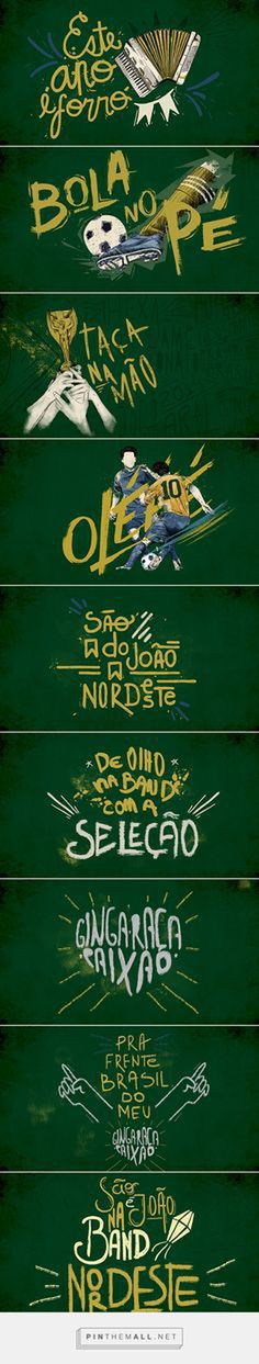 Band/NE - São João 2014 on Behance... - a grouped images picture - Pin Them All