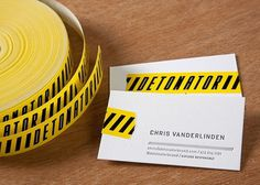 by Mikey Burton #business card