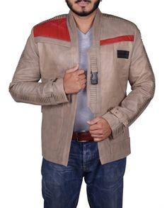 Star Wars Finn Leather Jacket (1)