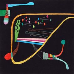 The Strange Attractor #pattern #colours #sewing