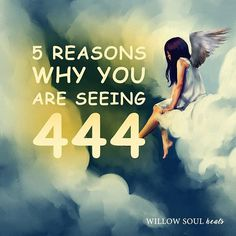 Do you repetitively see 444? Seeing 3-digit number patterns like #444 is a sign that you're receiving divine messages from higher realms.