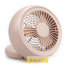 Mini #Snail #Fan #USB #/ #Battery #Power #Supply #- #SAKURA #PINK