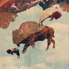 Art #illustration #collage #kessler
