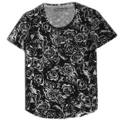 shoot_rose_shirt_black_lrg.jpg (JPEG Image, 800x800 pixels) #t #design #graphic #shirt #illustration