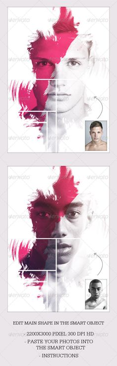 Dream Photo Template (Download) #creative #modern #abstarct #photograph #fashion