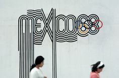 #olympic #mexico #logo #wall #68 #event