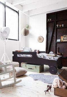 R toddler bed by Rafa Kids - modern, playful and functional toddler bed - www.homeworlddesign (9) #kids #bed #toddler