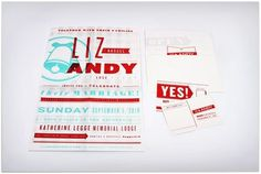 Andy & Liz Wedding Invitation - FPO: For Print Only on we heart it / visual bookmark #8166921