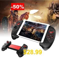 Wireless #Gaming-Controller #Gamepad #Red #Bat #Bluetooth #Smooth #Game #Pad