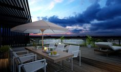 Terrace #architectural #visualization #terrace