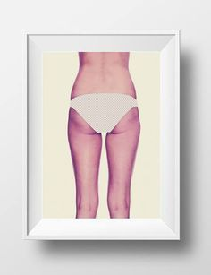 photoshop ass #ass #print #photoshop #vintage #poster