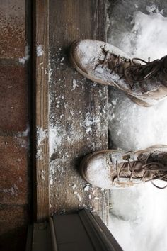 Likes | Tumblr #texture #photography #snow #shoes