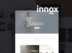 Innox : Creative PSD Web Template - Free Download | Freebiesjedi