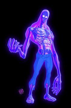 X__X • 死 者 の 顔 • - D C Stuelpner #x-ray