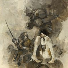 Ashley Wood | Artist #wood #illustration #painting #art #ashley