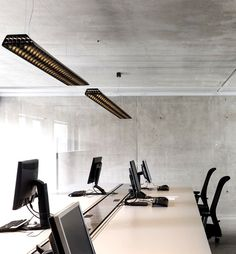Vaeder Office Fixture by Supermodular - #lamp, #design, #lighting, lights, lighting design