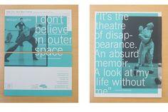 William Forsythe « PAT MORIN, Designer #print #brochure