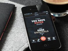 Dribbble - Graz Secrets App by Tobias van Schneider ▲▲▲ #awesome