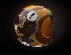 Joe Signs helmet #moto