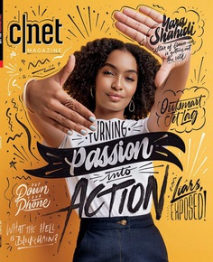 Yara Shahidi for C|Net Magazine.
