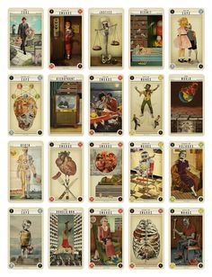 lovely package zombie tarot 7