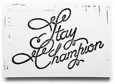 Beautiful Script Linocut - Neuarmy™ #lettering #neuarmy #trash