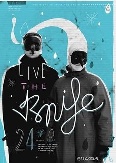 the knife poster | Flickr - Photo Sharing! #diego #festival #berakha #the #poster #knife