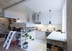 HB6B is a home renovation project completed by Karin Matz in 2013 #interior #design #space #architecture #room