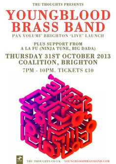 ybbb coalition #blood #young #brass #poster #band