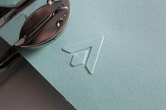 Personal Logo design #logodesign#graphicdesign #branding #flint #arrow #emboss #press www.ashflint.com