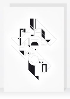TYPE - Fia-te na Virgem e nao corras #white #design #graphic #shapes #black #composition #melo #type #paulo