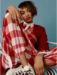 Jourdan Dunn by Bjarne Jonasson