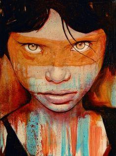 Pele Art Print by Michael Shapcott | Society6 #portrait #painting