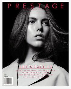 Josefien Rodermans Prestage Magazine Cover 2012 #cover #portrait #magazine