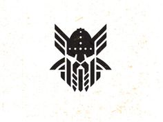 #viking #warrior #design #mike bruner #logo