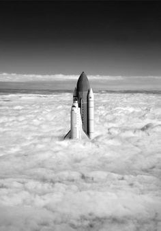 Tumblr #clouds #shuttle #nasa #space #jimmy