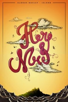 Here and Now by ~luuqas #illustration #typography