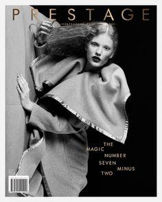 Anniek Kortleve op de cover van Prestage Magazine