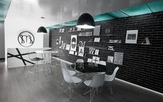 Graphic-ExchanGE - a selection of graphic projects #interior #office #design #micheline