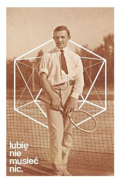 My work #tennis #print #hipster #geometric #photography #art #poster #sport #helvetica #typography