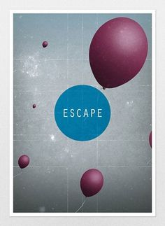 Clik clk – Blog d'inspiration » Bastardgraphics #illustration #balloons #typography