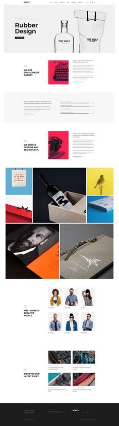 Pofo - #Creative #Portfolio and #Blog #WordPress Theme for #Branding #Agency by #ThemeZaa
