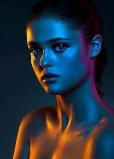 Neon Fashion Photography